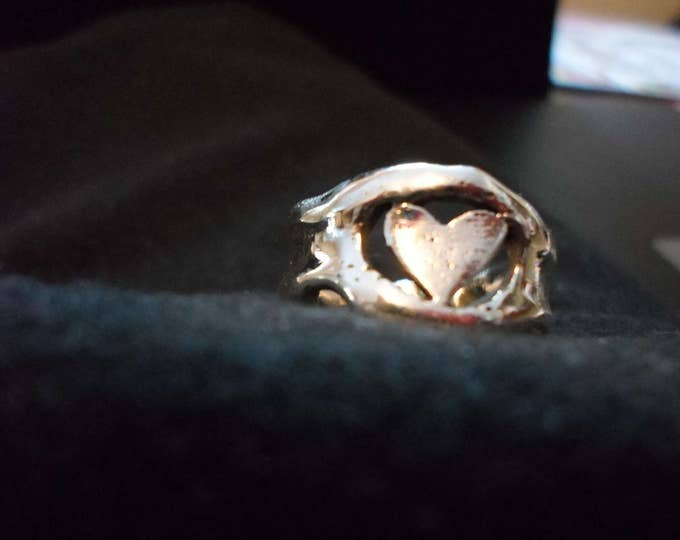 melted heart ring