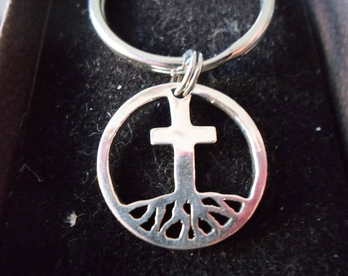 Rooted in cross key ring