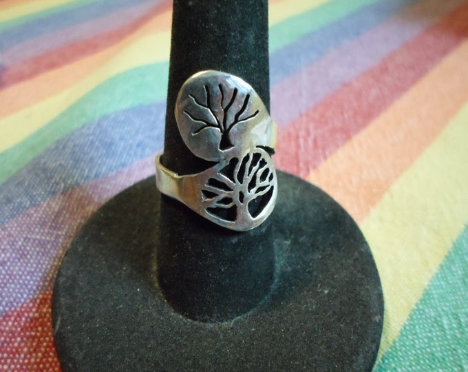 relection tree of life ring spoon style
