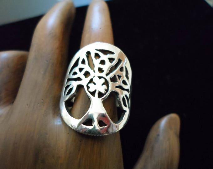 celtic tree  ring quarter size