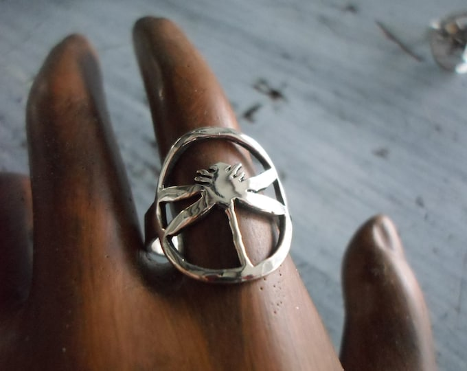 dragonfly ring dime size