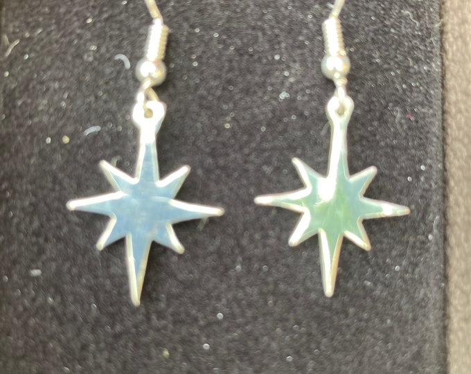 North Star earrings by mountainman