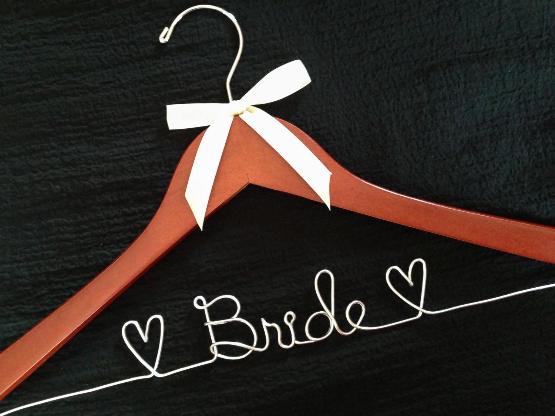 Braut-Aufhänger Hochzeitsfotos Braut gewickelter Draht