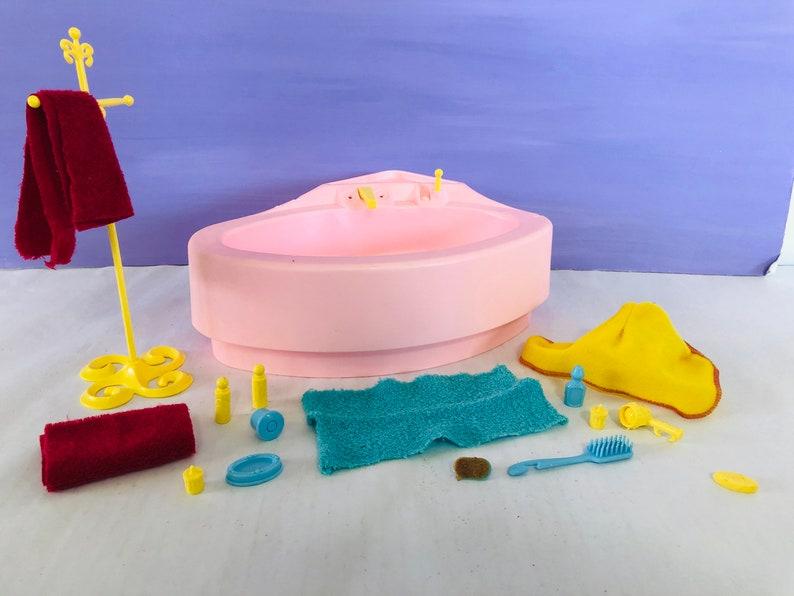 Vintage Barbie Furniture salle de bain baignoire rêve   Etsy