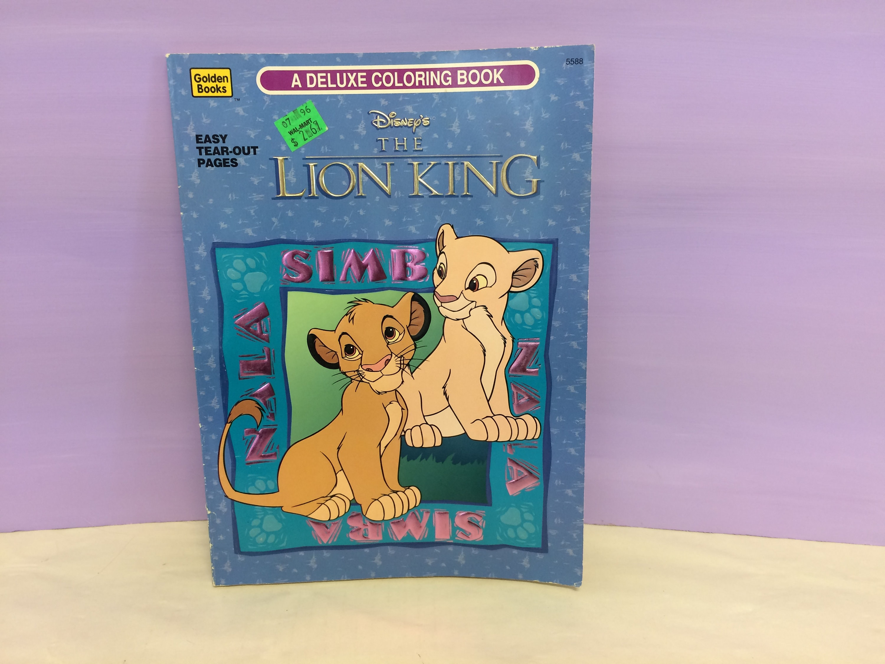 - The Lion King Coloring Book Golden Books Vintage Disney Etsy