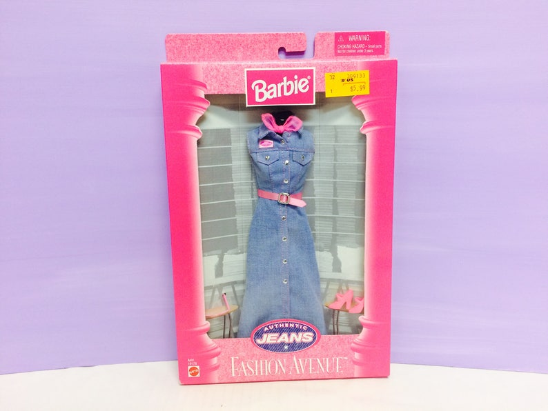 b7662ad9bf Barbie Doll Clothing Fashion Avenue Authentic Jeans Blue