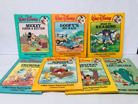 Walt Disney Fun To Read Library Beginning Reader Bantam Book Choose One Fun To Learn Library Vintage Children S Storybooks Your Choice