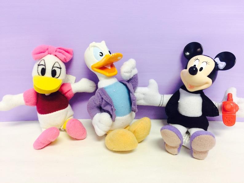 Minnie Mouse Plush Donald Duck Stuffed Animal Daisy Duck Etsy