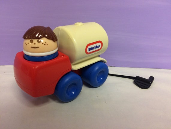 Little Tikes Keuken : Vintage little tikes toddle tots gas truck toddle etsy