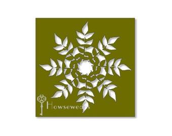 Stencils,Custom stencil,Stencils for wood,Leaf stencil,Stencils for signs,Leaves,Allover stencil,Gellli® Plate,Bible art journal,planner