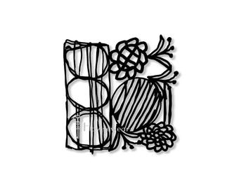 Stencils,Stencil for painting,Stencil art,Hand-drawn stencil,Markmaking,Allover stencil,pattern,Stencil,Stencil journal,bullet journal