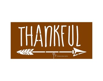Stencil,Thankful,Stencils for wood signs,reusable,stencils wood painting,Farmhouse sign stencil,wedding,fall,home,thanksgiving