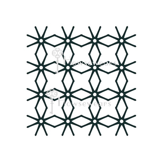 Schablone Handwerk-Schablone Scrapbooking Scrapbook Gelli®