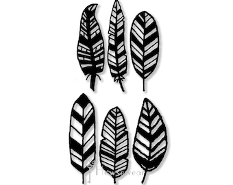 Stencils,Stencil for painting,Stencil masks,Feathers,Hand-drawn stencil,Stencils journal,template,pattern,Stencil,journal,bullet journal