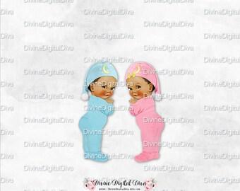Twinkle Little Star Baby Boy Girl Pink Blue Footie Pajamas Night Cap with  Moon   Stars  d6fc2f3da