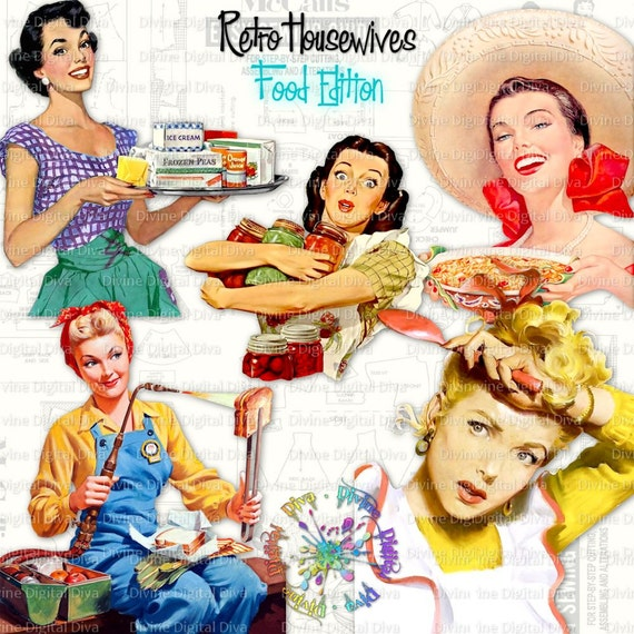 50 Retro Housewife