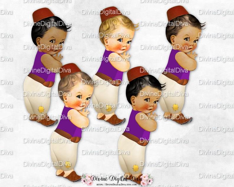 Little Prince Harem Pants Vest Fez Arabian Purple Brown Ivory  44c2c3e7a52