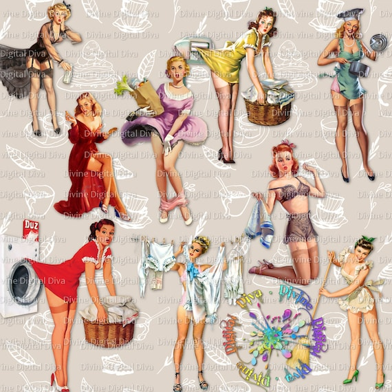 Ladies pinup 59+ Pin