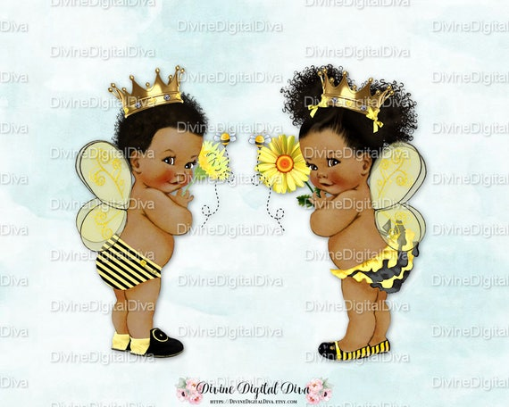 Queen Bee Prince Bee Baby Boy Amp Girl Yellow Black African