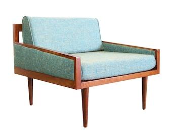 Mid Century Modern Arm Chair Casara Modern Executive Chair MCM Classic Arm Chair