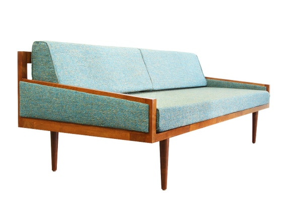 Mid Century Modern Daybed Casara Modern Executive Sofa Daybed with Arms