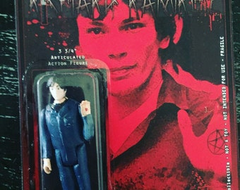 """Richard Ramirez """"The Night Stalker"""" 3.75"""" action figure by Straight To Hell Toyco. True crime oddities bizarre"""