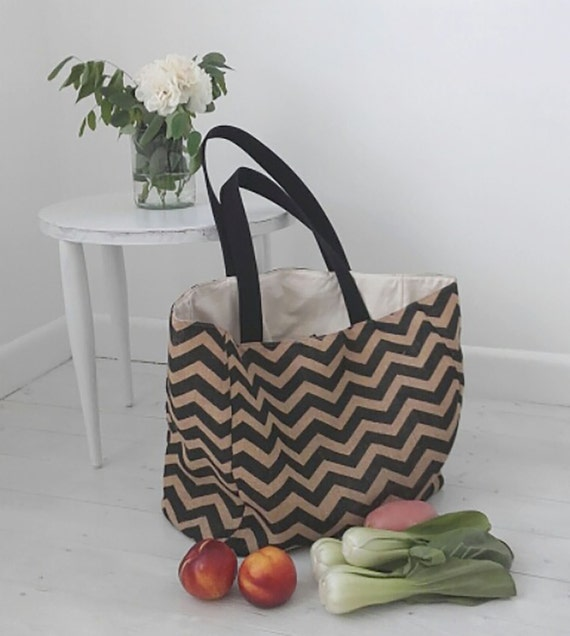 Reusable Grocery Bag Sewing Pattern, Reusable Shopping Bag Pattern ...