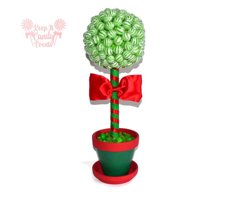 Christmas Lollipop Centerpiece Christmas Candy Centerpiece image 0