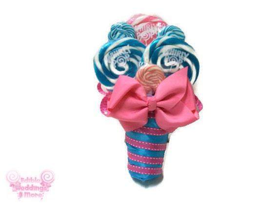 Items Similar To Lollipop Bouquet, Maid Of Honor Bouquet