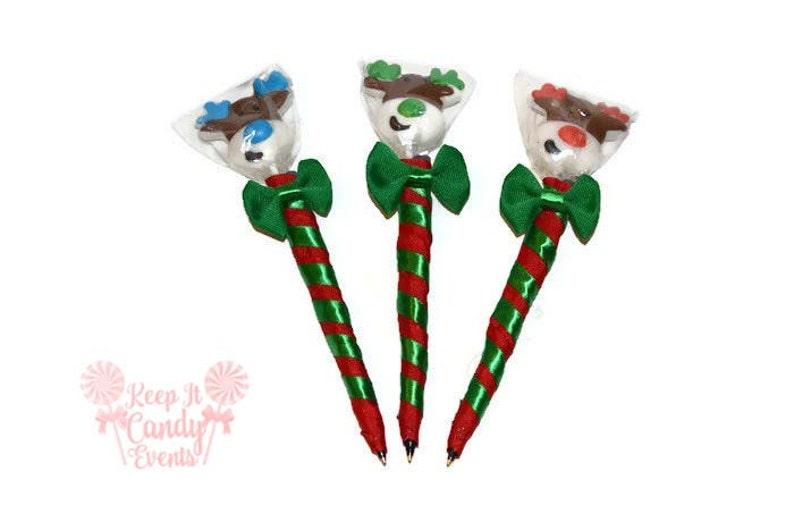 Reindeer Lollipop Pen Christmas Lollipop Pen Christmas image 0