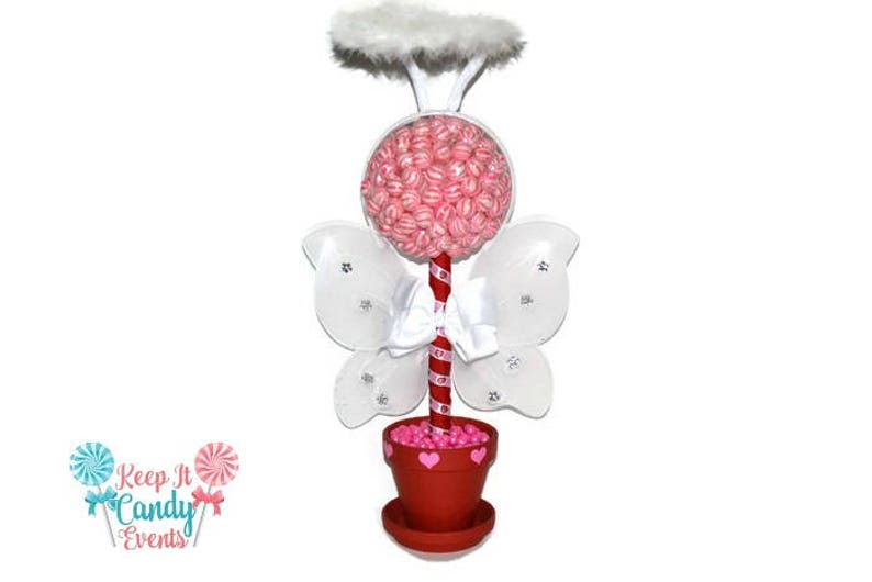 Cupid Topiary Cupid Centerpiece Valentines Day Lollipop image 0
