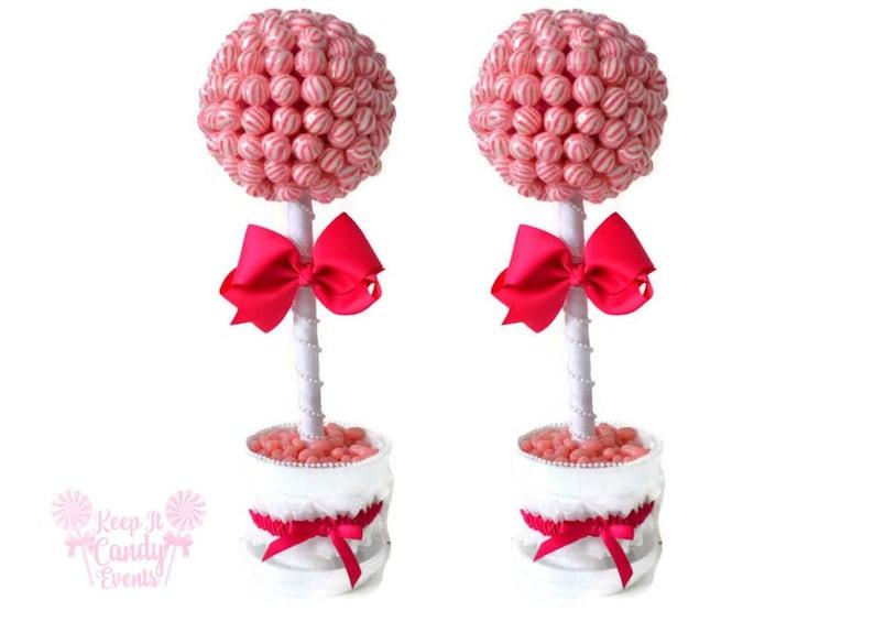 Custom Lollipop Brides Set Bride Candy Centerpieces Wedding image 0
