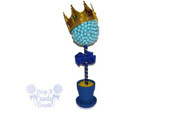 Large Lollipop Prince Topiary Candy Lollipop King Centerpiece