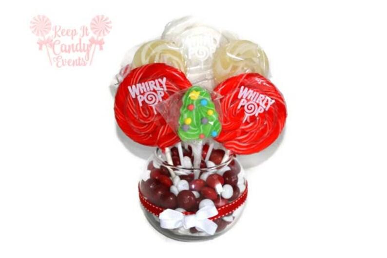 Lollipop Christmas Tree Centerpiece Candy Centerpiece image 0