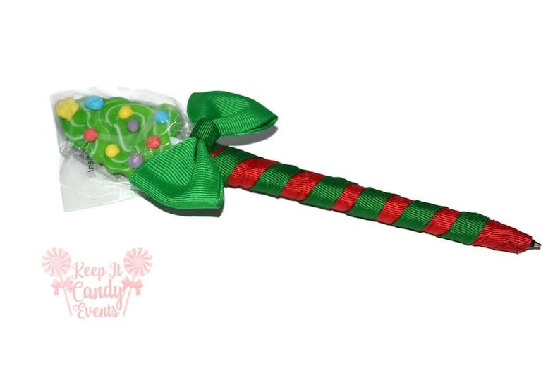 Christmas Tree Lollipop Pen Christmas Lollipop Pen Christmas image 0