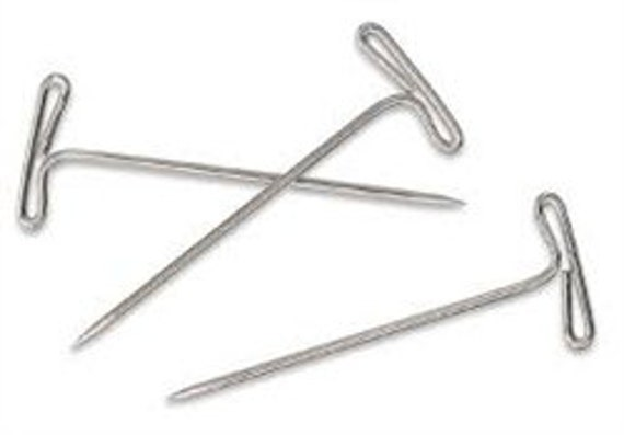 T Pins for Sewing Slipcovers Pack 50