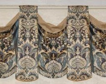 Horn Valance Template #9 by Pam Damour