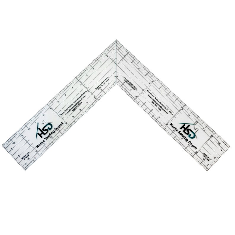 Woodworking 24 Ruler 11-24-FS Rulers Craft Supplies DIY Home Decor Sewing Accessories Sewing Crafts 24 Folding Square Ruler   Quilting