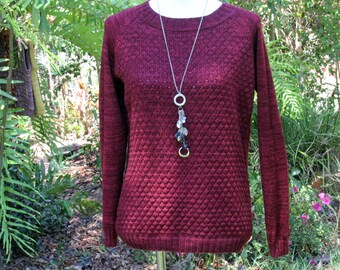 Hand Knitted Merino Wool Women's Sweater/Jumper/Pullover PRE_ORDER_ONLY