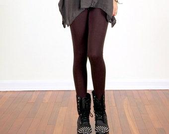 Dark Chocolate Brown Leggings