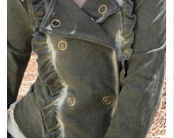 SALE - Moto Biker Jacket