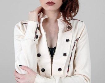 SALE - Knit Military Jacket