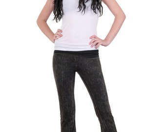 Acid Washed Yoga Pants