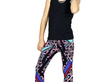 SALE !!!!!Kids/Girls Grunge Geo Craze Leggings ...Super soft and cute