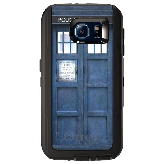 innovative design abdf5 a5a4c Custom OtterBox Defender for Galaxy S5 S6 S7 S8 S9 S10 + PLUS S10E / Note 5  8 9 - TARDIS Call Box Photograph