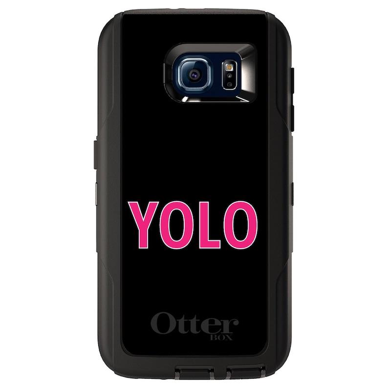 Choose Model Black Pink YOLO Custom OtterBox Defender for Galaxy S  Galaxy Note