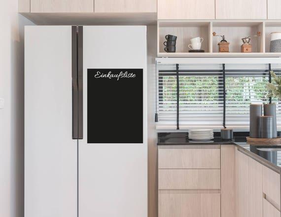 Kühlschrank Einkaufsliste Magnet : Einkaufsliste für den kühlschrank aus statischer tafelfolie etsy