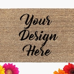 Custom Doormat | Housewarming Gift | Coir Doormat | Custom Mat | New Home Mat | Welcome Mat |  Your Design Doormat