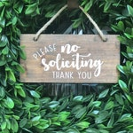 No Soliciting Sign | Do Not Disturb Sign | Porch Decor | No Soliciting Door Sign | No Solicitation Sign | Do Not Ring Bell Sign | Porch Sign