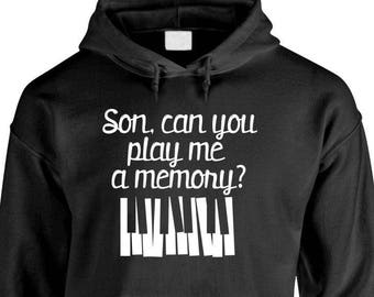 SON, Can You PLAY Me A MEMORY? - Adult Hoodies